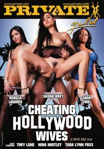 Cheating Hollywood Wives watch porn movies